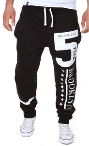 Casual Men's Printed Style Long Pants
