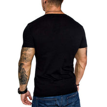 Load image into Gallery viewer, Casual Plain Men's T-Shirts