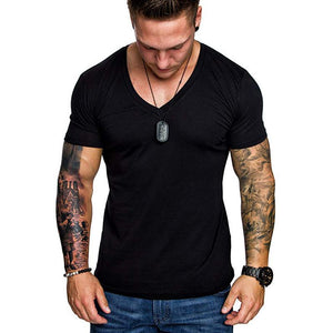 Casual Plain Men's T-Shirts