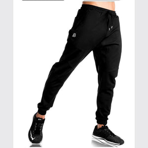Men's Fitness Cotton Stretch   Running Casual Pants