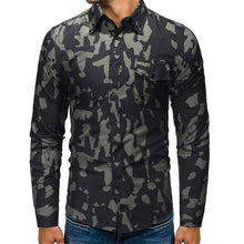 Load image into Gallery viewer, Camouflage Casual Shirt