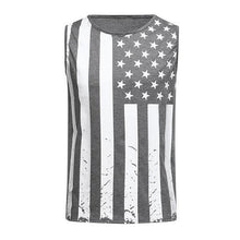 Load image into Gallery viewer, Men's Fashion Flag Print Vest