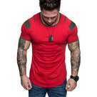 Men's Fashion Colorblock Raglan Sleeve T-Shirt