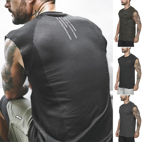 Fitness  Professional Training Quick-Drying Tank