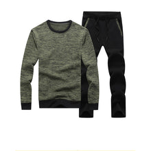 Load image into Gallery viewer, Men's Casual Long Sleeve Sweater Set