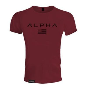 New Brand Clothing Gyms Tight Cotton T-Shirt