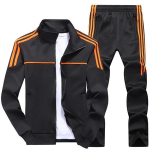 Sports Solid Color Casual Street Wild Suit