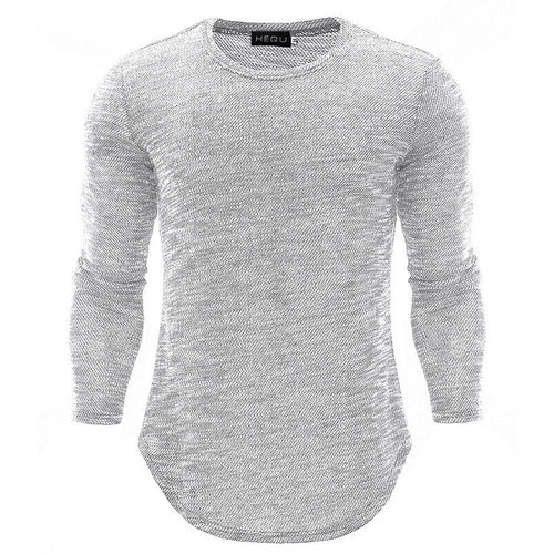 High Quality Casual Round Neck Long Sleeve T-Shirts