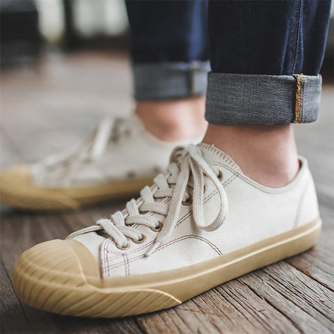 Couple models vulcanized shoes casual canvas shoes