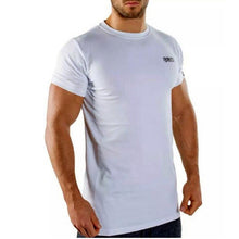 Load image into Gallery viewer, New Men's Casual Fitness Short Sleeve T-Shirt Homme Muscle Gyms T-Shirt