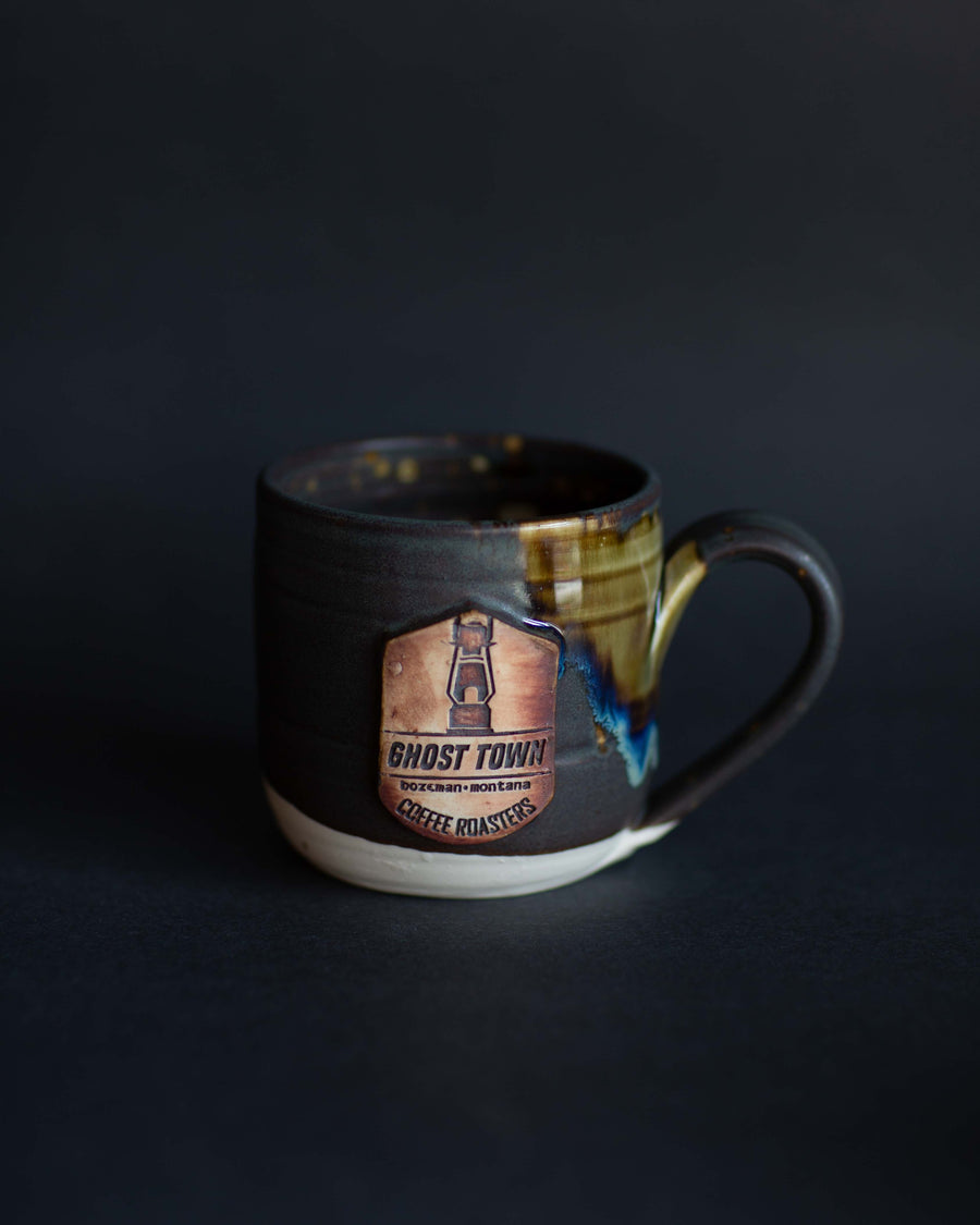 Ceramic Ghost Town Mug - Lulu Pottery