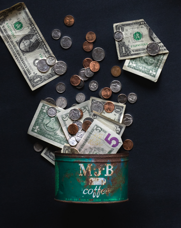 Coffee Can Virtual Tip Jar