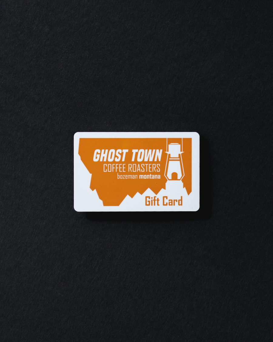 Ghost Town Gift Card (Cafe Only)