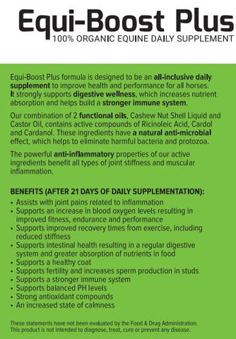 equi-boost supplment for horses
