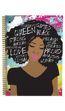 Load image into Gallery viewer, Self Love Melanin Notebook Set