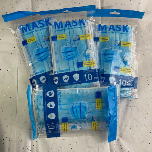 3 Layered Face Masks