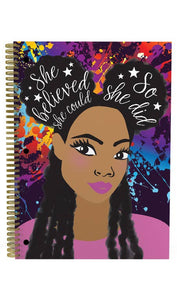 Self Love Melanin Notebook Set
