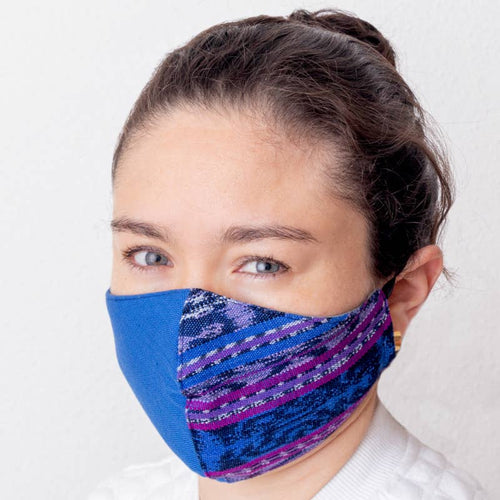3 Layered Jaspe Cotton Face Mask