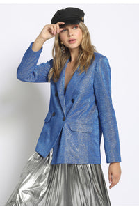 Metallic Disco Suit Set