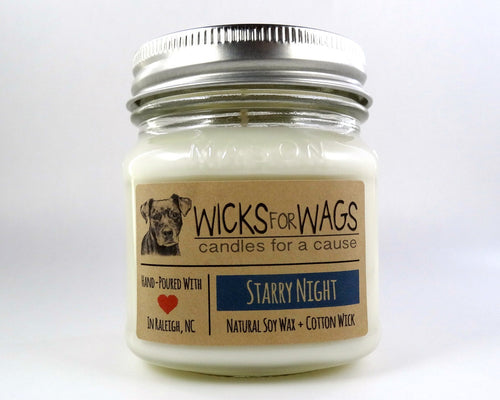 The Starry Night Soy Candle