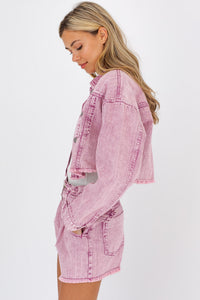 Cropped Tucker Jacket