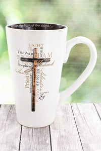 Light Of The World Cross Mug