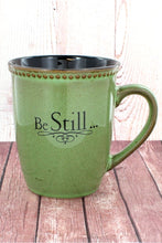 Load image into Gallery viewer, BE STILL... MOSS GREEN MUG