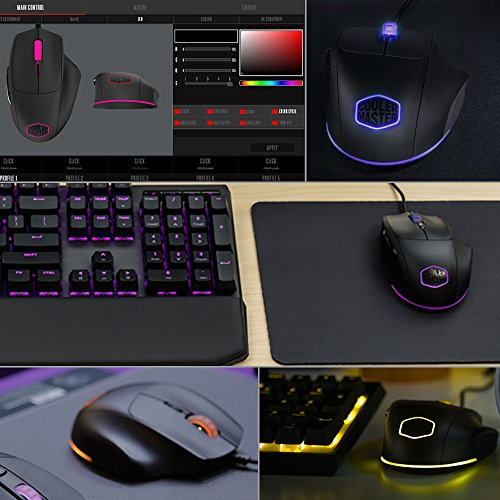 e14229d2ebc ... Cooler Master MasterMouse MM520 Claw Grip Gaming Mouse ...
