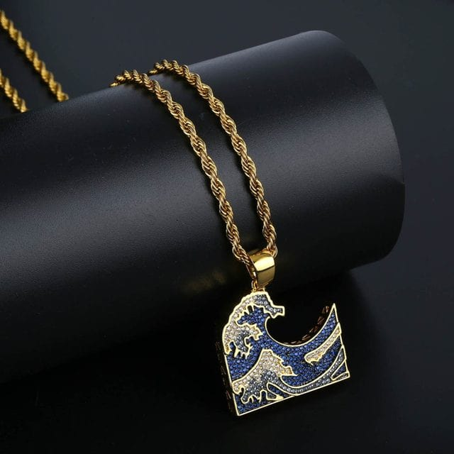 The Wave Pendant & Necklace