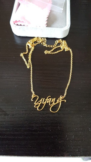 Signature Style Custom Name Necklace