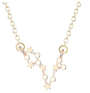 Free Standing 12 Star Constellations Necklace