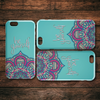Be Yourself Mandala  iPhone Case