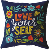 Love Yourself Throw Throw Pillow