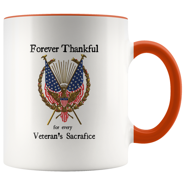Forever Thankful 11oz Accent Mug
