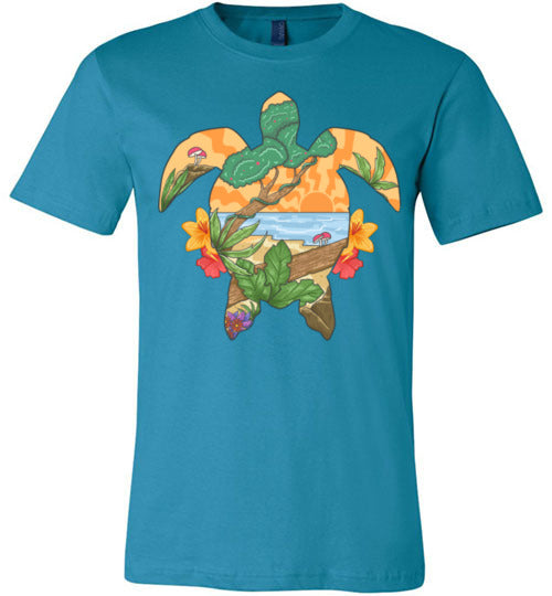 Tropical Turtle Men's Shirt