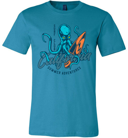 Surf Club Octopus Men's T-Shirt