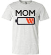 Low Battery Mom Women's Slim Fit T-Shirt
