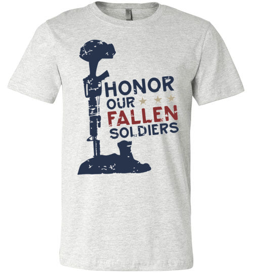 Honor Our Fallen Soldiers Adult & Youth T-Shirt