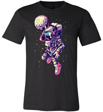 B-Ball Astronaut Adult & Youth T-Shirt