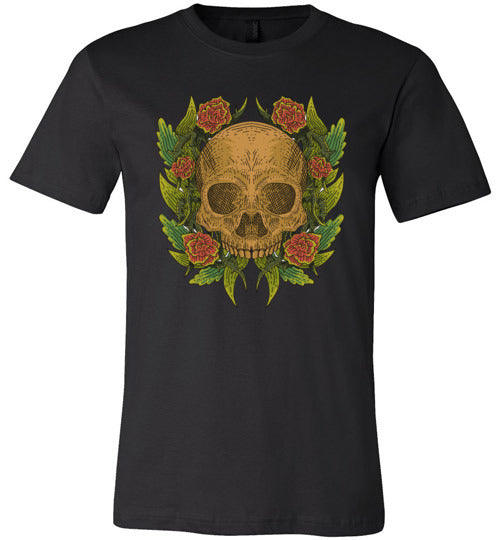 Skull & Roses Adult & Youth T-Shirt