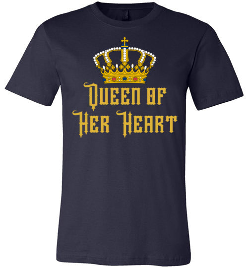 Queen of Her Heart Women's & Youth Matching T-Shirt