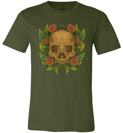 Skull & Roses Unisex & Youth T-Shirt