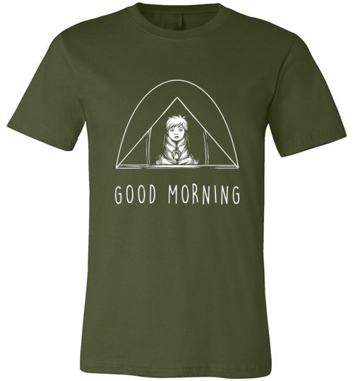 Camping Morning Adult & Youth T-Shirt