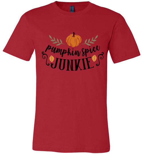 Pumpkin Spice Junkie Adult  & Youth T-Shirt