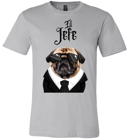 El Jefe Pug Unisex & Youth T-Shirt