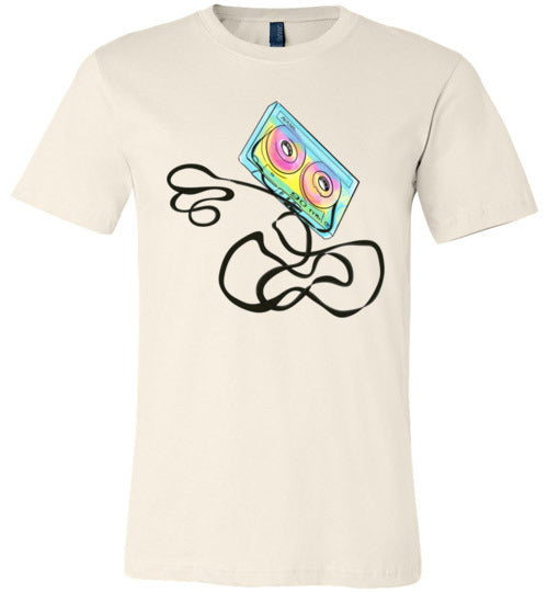 Colorful Cassette Adult & Youth T-Shirt