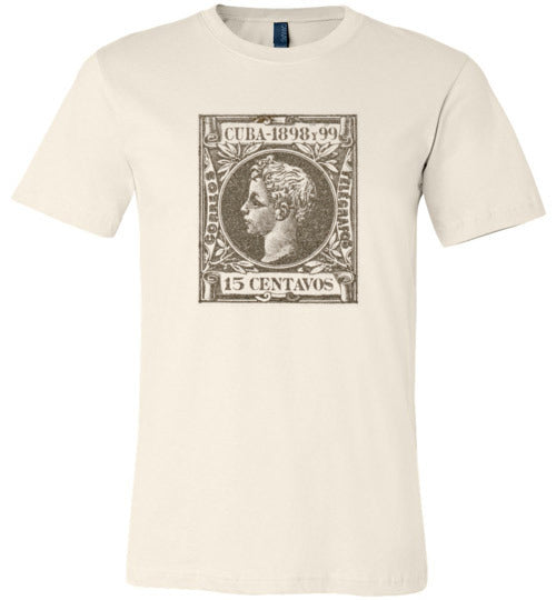 Cuban Stamp Adult & Youth T-Shirt