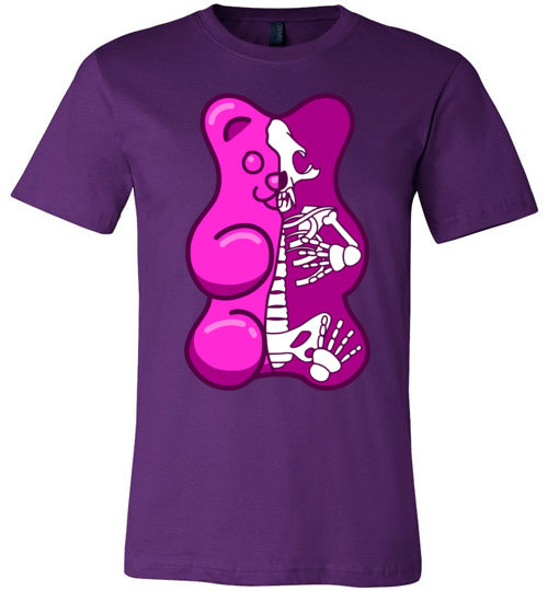 Gummy Bear Skeleton Adult & Youth T-Shirt