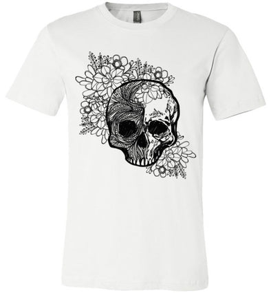 Cool Retro Skull Unisex & Youth T-Shirt