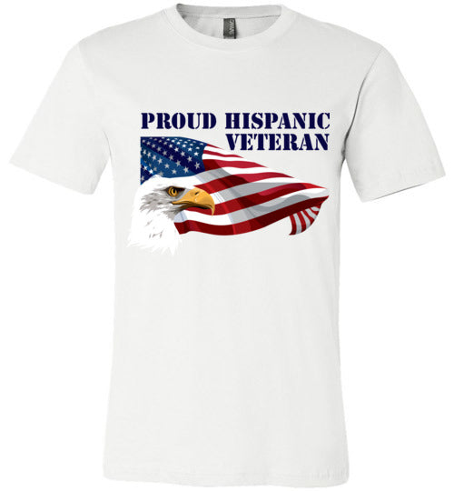 Proud Hispanic Veteran Adult & Youth T-Shirt